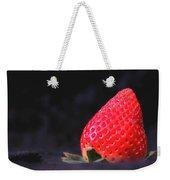 Strawberry Weekender Tote Bag