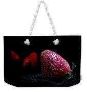 Strawberry Trail Weekender Tote Bag