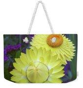Strawflower Perfection  Weekender Tote Bag