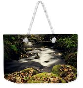 Stream In Lapland Finland Weekender Tote Bag