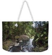Stream In  Rainforest Weekender Tote Bag