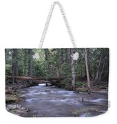 Stream In The Forest Weekender Tote Bag