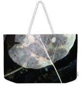 Stream Leaf Weekender Tote Bag