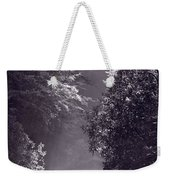 Stream Light B W Weekender Tote Bag