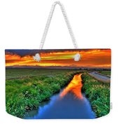 Stream Of Light Weekender Tote Bag