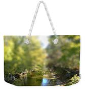 Stream Reflections Weekender Tote Bag