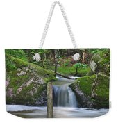 Stream Waterfall Weekender Tote Bag