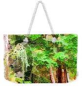 Streams In A Wood Covered With Leaves Weekender Tote Bag