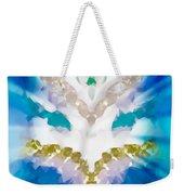Streams Of Light In Turquoise Weekender Tote Bag
