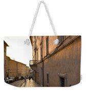 Street At Sundown In Assisi Weekender Tote Bag