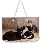 Street Cats - Portugal Weekender Tote Bag