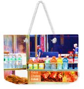 Street Food 3 Weekender Tote Bag