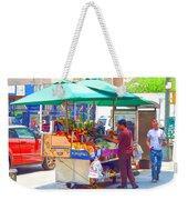Street Food 6 Weekender Tote Bag