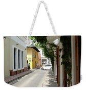 Street In Colombia Weekender Tote Bag