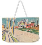 Street In The Bronx Weekender Tote Bag