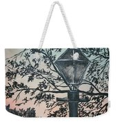 Street Lamp Historic Vintage Art Print Weekender Tote Bag