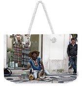 Street Music, Lisboa Weekender Tote Bag by Lorraine Devon Wilke