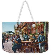 Street Life Of Peking, 1921 Weekender Tote Bag