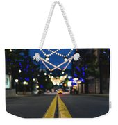 Street Lights Weekender Tote Bag