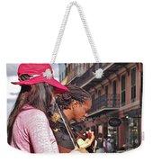 Street Musicians Weekender Tote Bag
