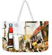 Street Of New York City Weekender Tote Bag