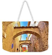 Street Of Sirmione Historic Architecture View Weekender Tote Bag