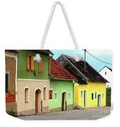 Street Of Wine Cellar Houses  Weekender Tote Bag
