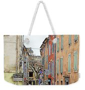Street Orange, France Weekender Tote Bag