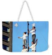 Street Performers 14 Weekender Tote Bag