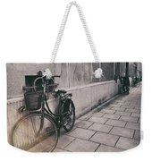 Street Photo Bicycle Weekender Tote Bag
