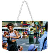 Street Photography Nyc Paint  Weekender Tote Bag