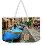Street Scene Manarola Italy Dsc02634 Weekender Tote Bag
