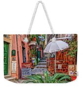 Street Scene Monterosso Italy Dsc02470 Weekender Tote Bag