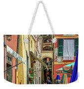 Street Scene Vernazza Italy Dsc02651 Weekender Tote Bag