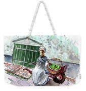 Street Seller In Helsingor Weekender Tote Bag