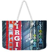 Street Signs Of New York Weekender Tote Bag