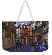 Street View Of Paris Weekender Tote Bag