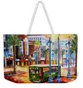Streetcar On Canal Street Weekender Tote Bag