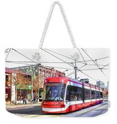 Streetcar On Spadina Avenue #17 Weekender Tote Bag