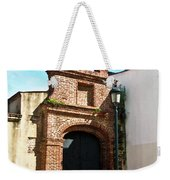Streetlight Bells And Cross Weekender Tote Bag