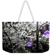 Streetlights In Blossoms Weekender Tote Bag