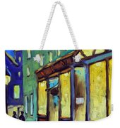 Streets At Night Weekender Tote Bag