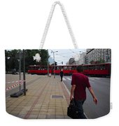 Streets Of Belgrade Weekender Tote Bag