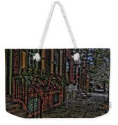 Streets Of Fairmont Weekender Tote Bag