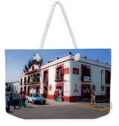 Streets Of Oaxaca Mexico 3 Weekender Tote Bag