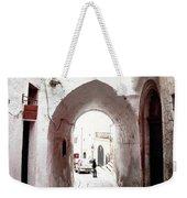 Streets Of Ostuni Weekender Tote Bag
