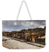 Streets Of Pompeii - 1a Weekender Tote Bag