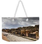 Streets Of Pompeii Weekender Tote Bag