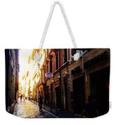 Streets Of Rome 2 Weekender Tote Bag