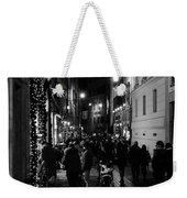 Streets Of Rome At Night  Weekender Tote Bag